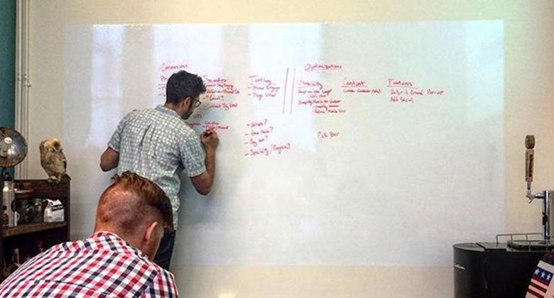 team robo brainstorming
