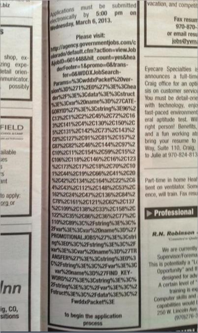 Very long url in print