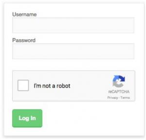 google's recaptcha